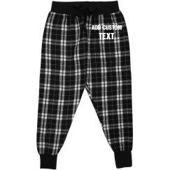 Personalized Kids Flannel Pajamas