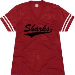 Jacksonville sharks shirt 2.