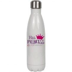 White water bottle PPC logo