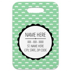 Minty Mustaches Custom Tag
