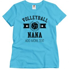 Custom Volleyball Nana