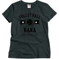 Custom Volleyball Nana
