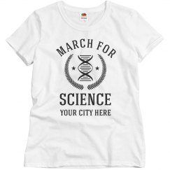 Custom City March For Science Rally