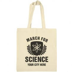 Custom City March For Science Gear