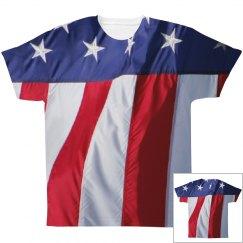 USA American Flag Print