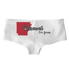 Arkansas Reserved For Groom Panty