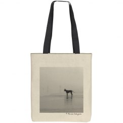 Have you seen my human?  (tote bag)