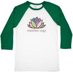 3/4 Sleeve Mukilteo Yoga Top