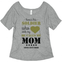 This Solider Stole Mom's Heart