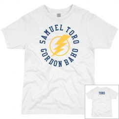 Adult T-shirt yellow flash