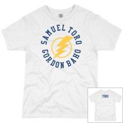 Youth T-shirt yellow flash