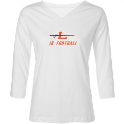 Women's Logo V- Neck