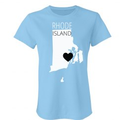 Custom Rhode Island Heart