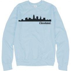 Cleveland Skyline Crewneck