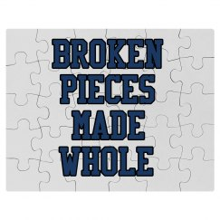 Broken Pieces Made Whole Puzzle