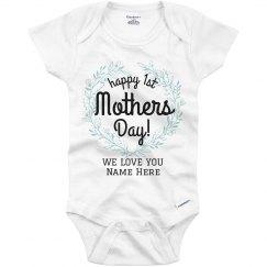 1st Mother's Day Onesie