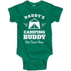 Custom Name Daddy's Camping Buddy