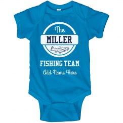 Custom Family Fishing Team