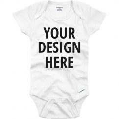 Custom Text Baby Onesie