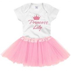 Cute Crown Custom Princess W/Name