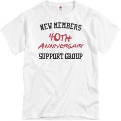 New members 40th anniversary