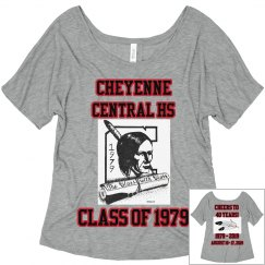 Cheyenne Central HS Womens Flowy T-Shirt