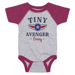 Tiny Avenger Onesie