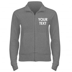 Personalized Full Zip Track Jacket