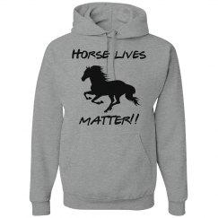 Horse lives (hoodie)