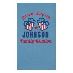 July Fourth Family Reunion Custom Gaiters