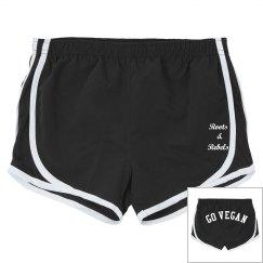 Go Vegan booty shorts