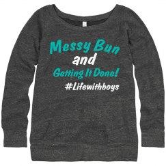 Messy Bun Sweatshirt