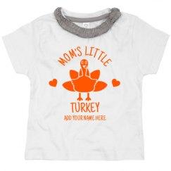 Toddler Ruffle Neck Tee