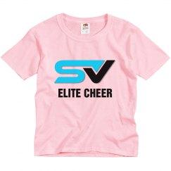 YOUTH White SV Logo Tee