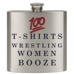 TWWB T-shirts Wrestling