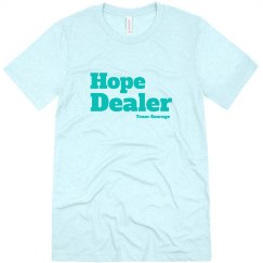 Hope Dealer Tee Block Lettering