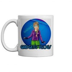 Vlogs mug Purple logo