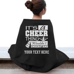 Custom Cheer Thing Blanket