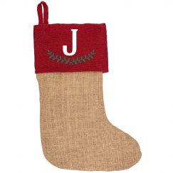 Custom Initial Family Stocking