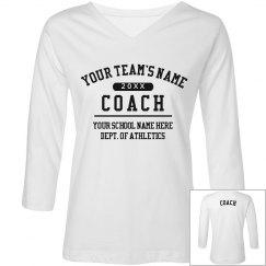 Custom Coach Long Sleeve