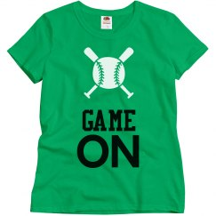 Womens Customized Baseball T-Shirt