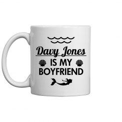 Davy Jones Is My Boyfriend Mermaid