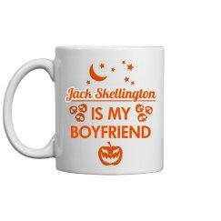 Jack Is My Boyfriend Spooky Mug