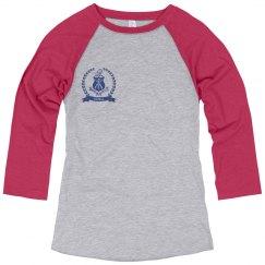 AA - Misses 3/4 Sleeve, crest, rt pocket