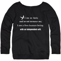 Literary Quote Sweatshirt