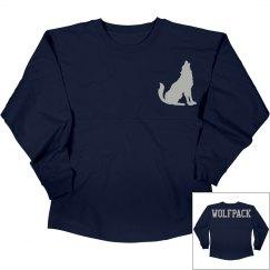 Nevada wolf pack long sleeve shirt.