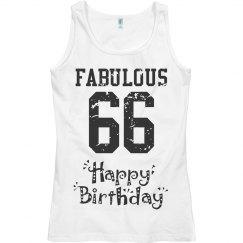Fabulous 65 birthday