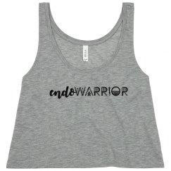 Endo Warrior Endometriosis Awareness Month Crop Tank