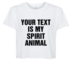 Custom Text Spirit Animal
