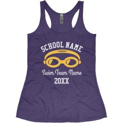 Swim Team School Tank